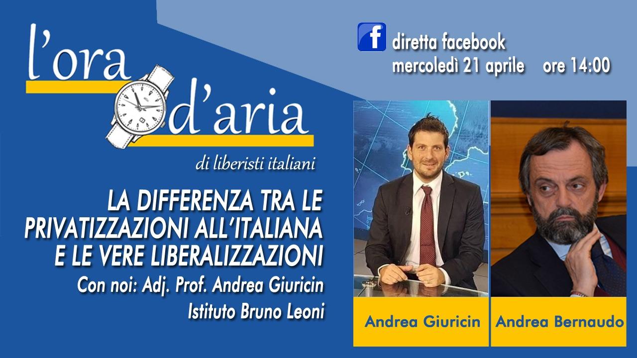 LA DIFFERENZA TRA LE PRIVATIZZAZIONI ALL'ITALIANA E LE VERE LIBERALIZZAZIONI con Andrea Giuricin