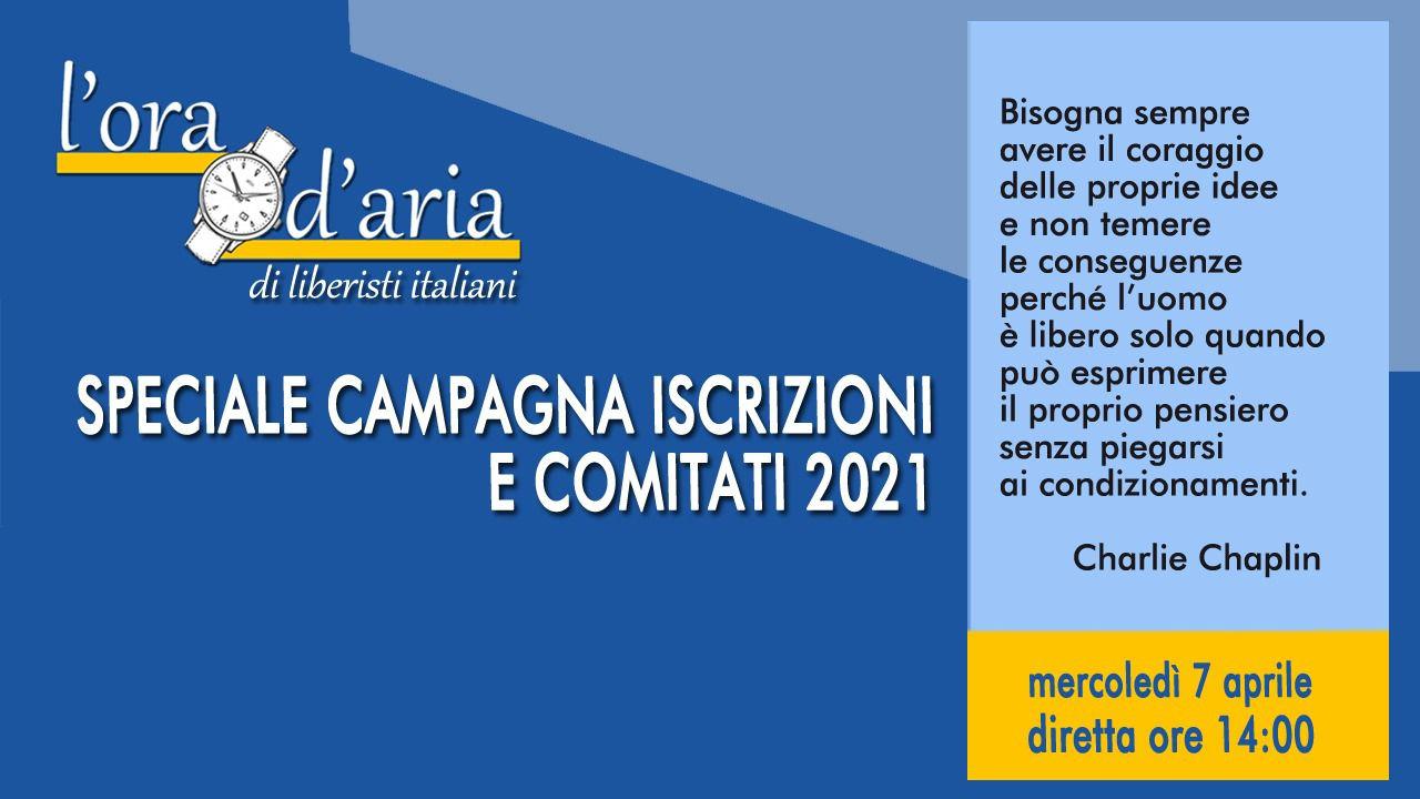 SPECIALE CAMPAGNA ISCRIZIONI E COMITATI 2021