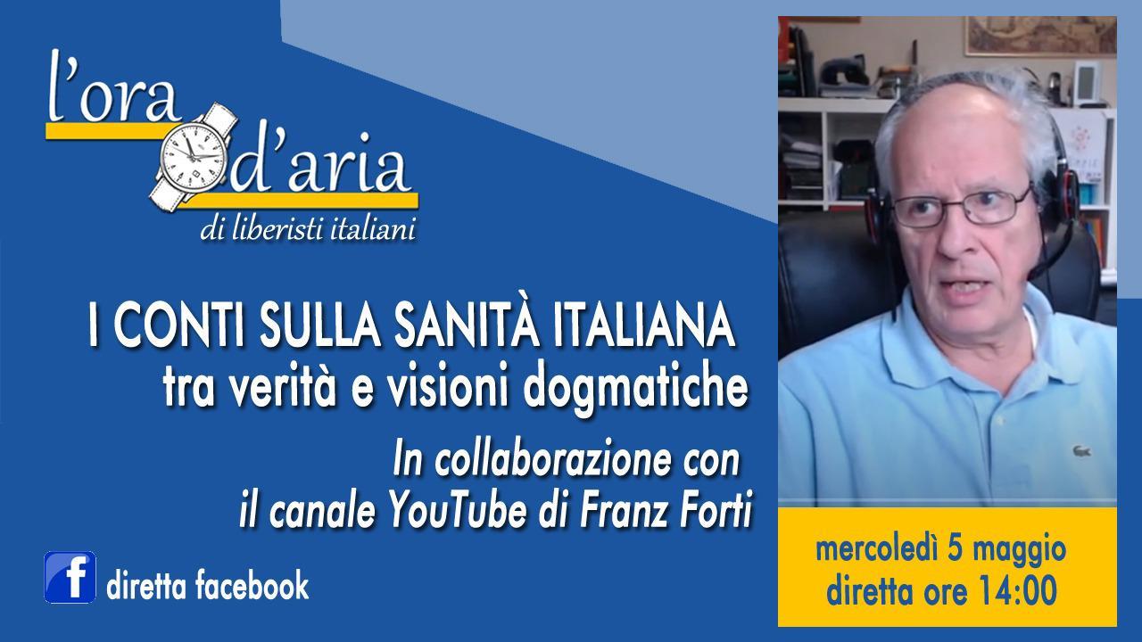 I CONTI SULLA SANITÀ ITALIANA in collaborazione con il canale YouTube di Franz Forti