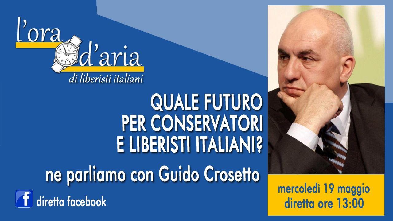 QUALE FUTURO PER CONSERVATORI E LIBERISTI ITALIANI? Ne abbiamo parlato con Guido Crosetto