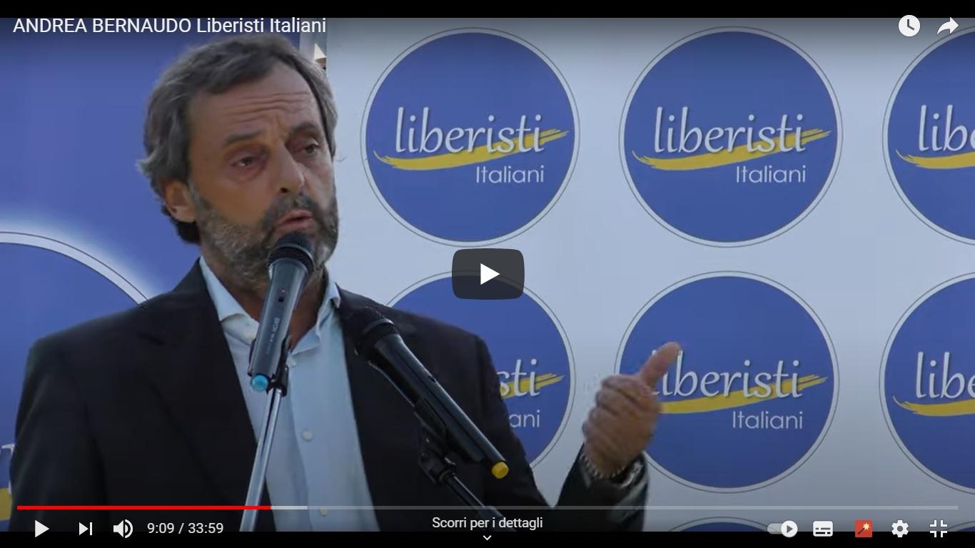 Apertura della campagna elettorale di Liberisti Italiani