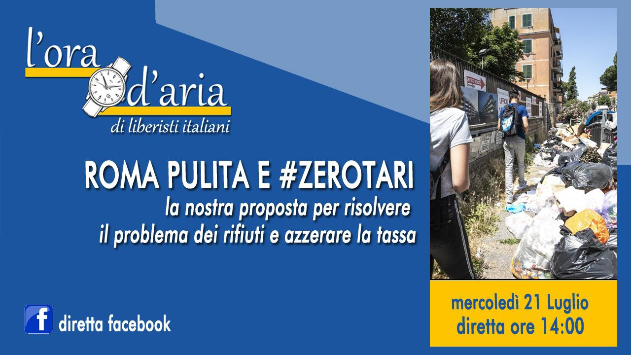ROMA PULITA E #ZEROTARI